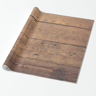 Wooden texture wrapping paper