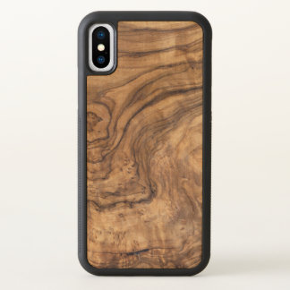 wooden textures nature brown iPhone x case