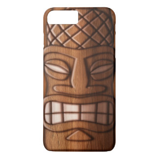 Wooden Tiki Mask iPhone 8 Plus/7 Plus Case