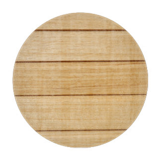 Wooden Tiles Decorative Glass Chopping Board