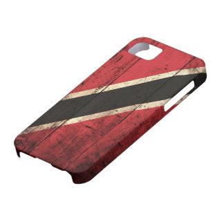 Wooden Trinidad and Tobago Flag iPhone 5 Case