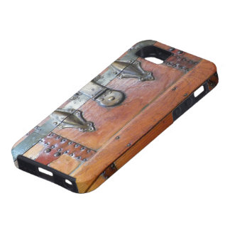 Wooden Trunk Chest with Latches iPhone 5 Cover
