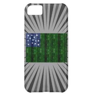 Wooden Vermont Flag Cover For iPhone 5C