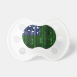 Wooden Vermont Flag Pacifiers
