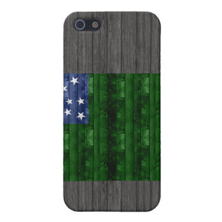 Wooden Vermont Flag iPhone 5 Covers