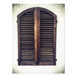 Wooden Window Shutters Photo Prints Photo Print