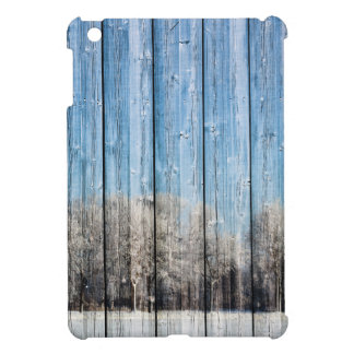 Wooden winters cover for the iPad mini