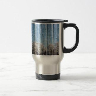 Wooden winters travel mug