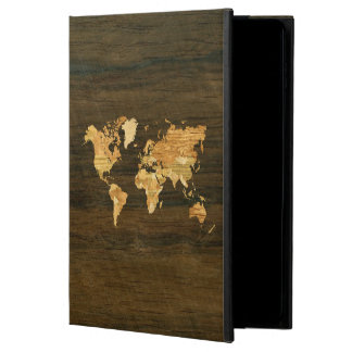 Wooden World Map Powis iPad Air 2 Case