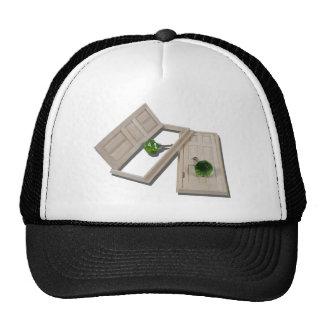 WoodenDoorsCrystalDoorknobs021411 Trucker Hat