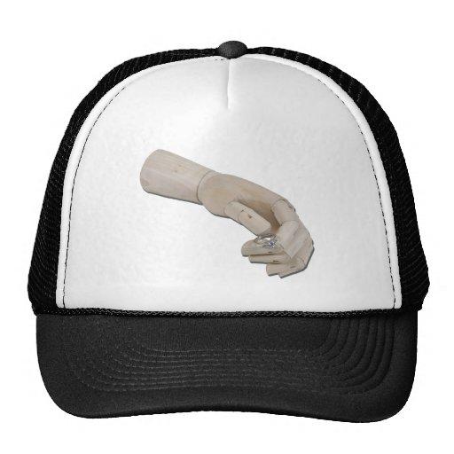 WoodenHandOfferEngagementRing011011 Hat