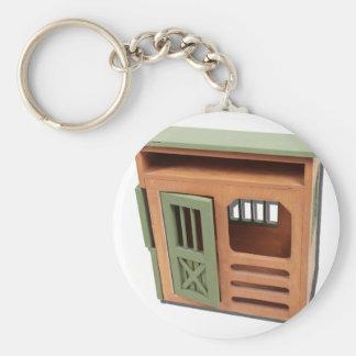 WoodenStorageShed022111 Key Ring