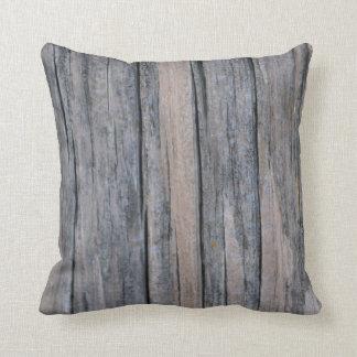 Woodgrain  American MoJo Pillo Throw Pillows