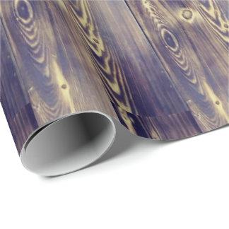 Woodgrain Art Wrapping Paper