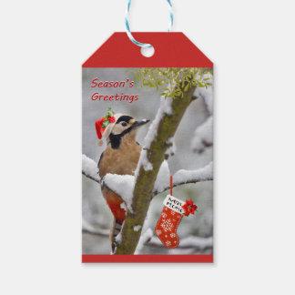 Woodies Christmas Gift Tags