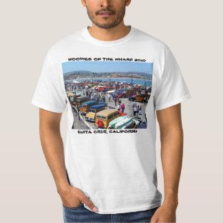 WOODIES ON THE WHARF 2010 SANTA CRUZ T-Shirt