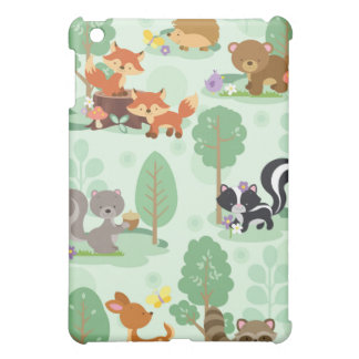 Woodland Animal iPad Mini Case