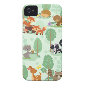 Woodland Animal iPhone 4 Case