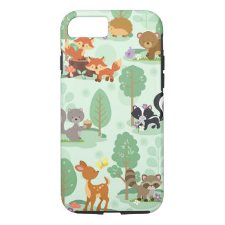 Woodland Animal Iphone 7 Case