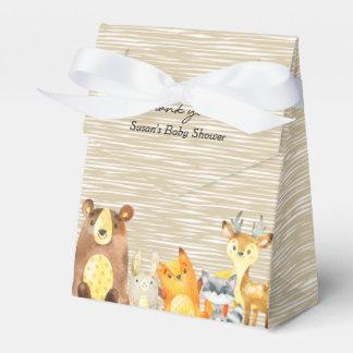 Woodland Animals Baby Shower Favor Favour Box