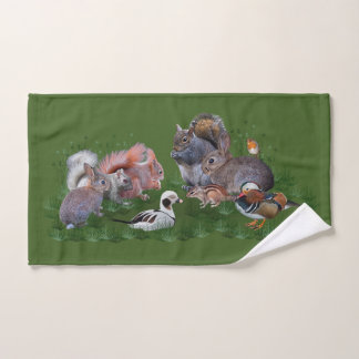 Woodland Animals Bathroom Towel Set