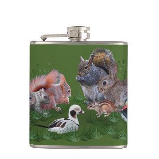 Woodland Animals Flask