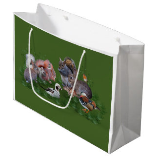 Woodland Animals Gift Bag