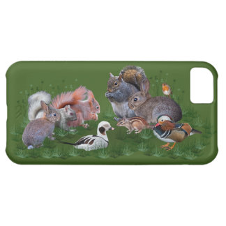 Woodland Animals iPhone 5 Case
