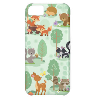 Woodland Animals iPhone 5C Phone Case