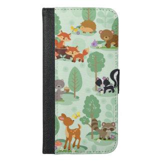 Woodland Animals iPhone 6/6S Wallet Phone Case