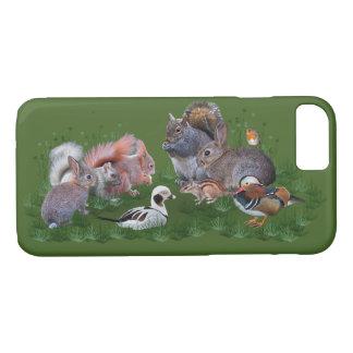 Woodland Animals iPhone 7 Case