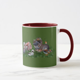Woodland Animals Mug