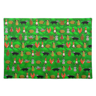 Woodland Animals Placemat