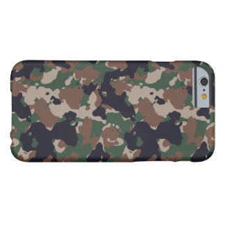 Woodland army camouflage barely there iPhone 6 case