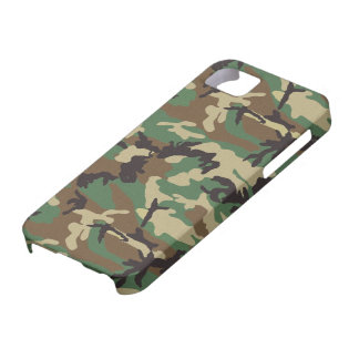 Woodland Army Camouflage iPhone 5/5S Case