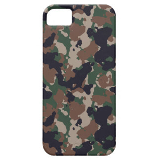 Woodland army camouflage iPhone 5 covers