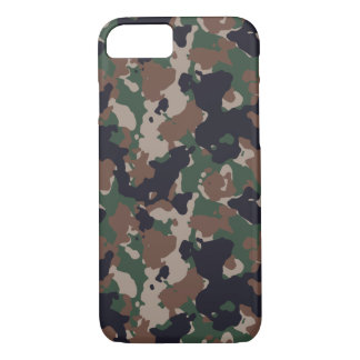 Woodland army camouflage iPhone 7 case