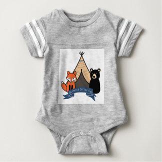Woodland Baby Boy Body Suit Baby Bodysuit
