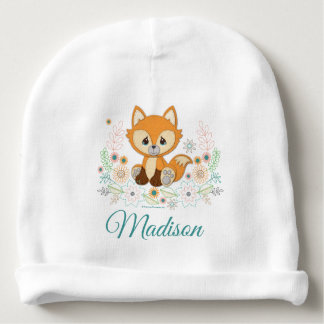Woodland Baby Sweet & Clever Fox Design Baby Beanie