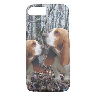 Woodland Basset Hound iPhone 7 Case