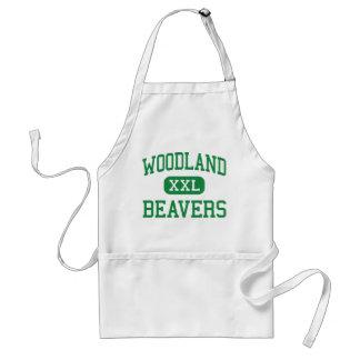Woodland - Beavers - High - Woodland Washington Apron