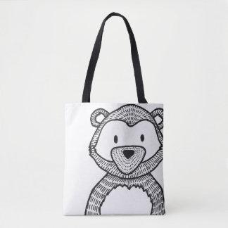 Woodland Black Bear Women's stylish Bag