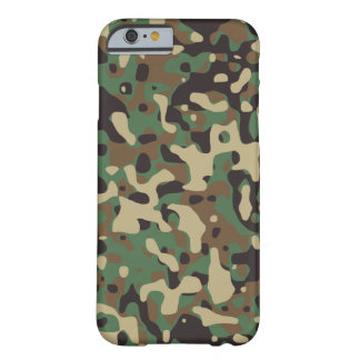 Woodland Camo Barely There iPhone 6 Case
