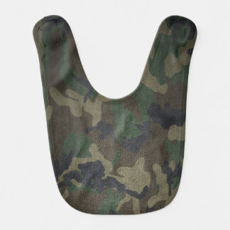 Woodland Camo Fabric Bib