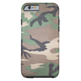 Woodland Camo iPhone 6 case Tough iPhone 6 Case