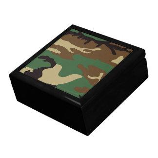 Woodland Camo Large Square Gift Box