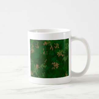 Woodland Camo Coffee Mugs