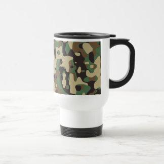 Woodland Camo Travel Mug