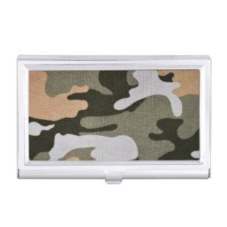 Woodland Camouflage 01 Business Card Holder