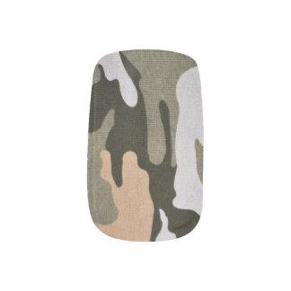 Woodland Camouflage 01 Minx Nail Art